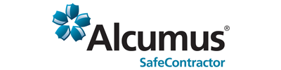 Image of Safe Contractor Alcumus logo